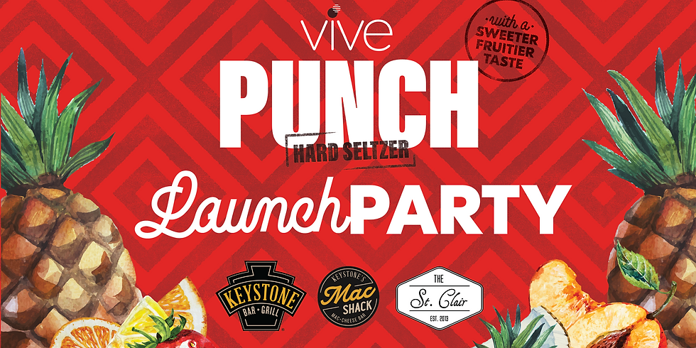 VIVE Punch Hard Seltzer Launch Party