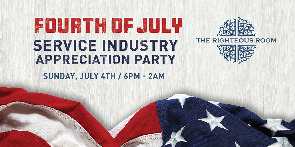 Fourth of July Service Industry Night
