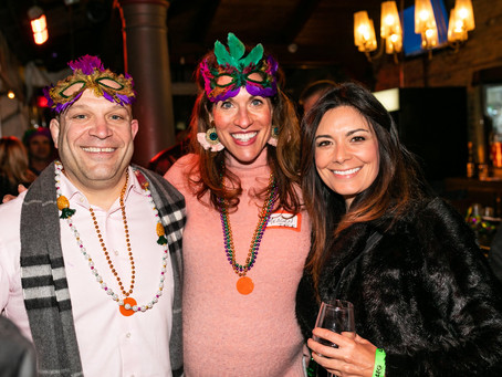 Rosedale OTR and Cincy Betterment Team Up for Mardi Gras Benefit
