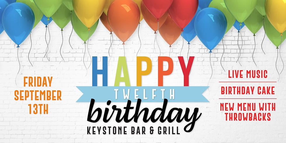 Keystone's Twelfth Birthday