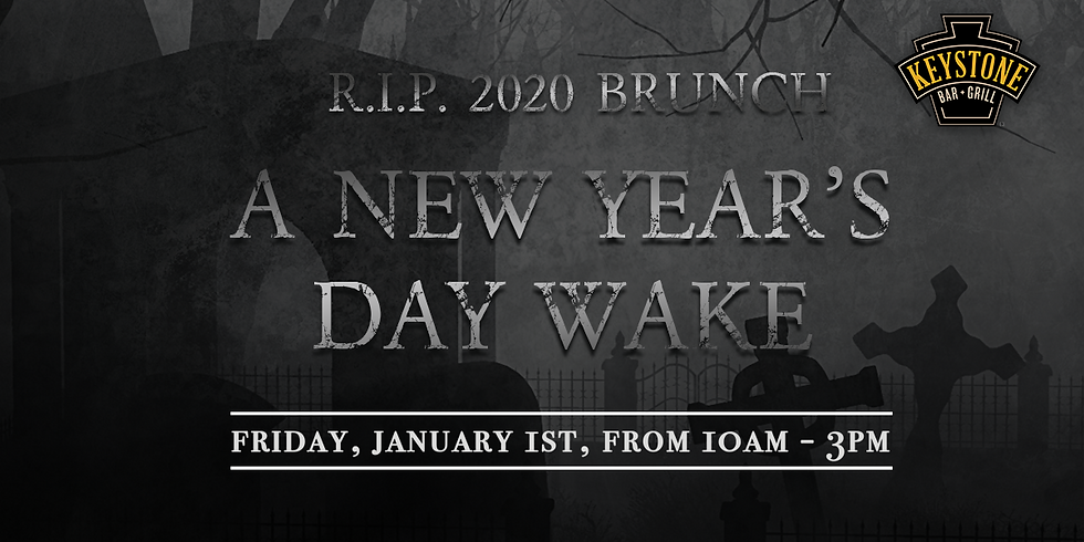 R.I.P. 2020 Brunch: A New Year's Day Wake