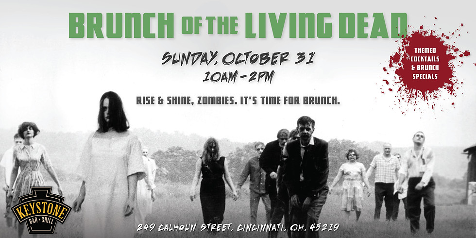 Halloween Brunch of the Living Dead