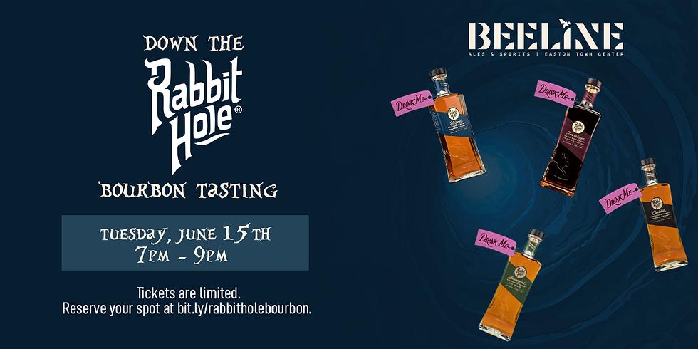 Down the Rabbit Hole: Rabbit Hole Bourbon Tasting