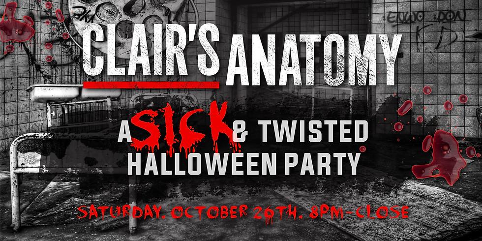 Clair's Anatomy Halloween Party