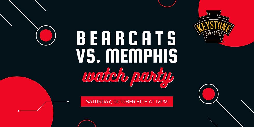 Bearcats vs. Memphis Watch Party