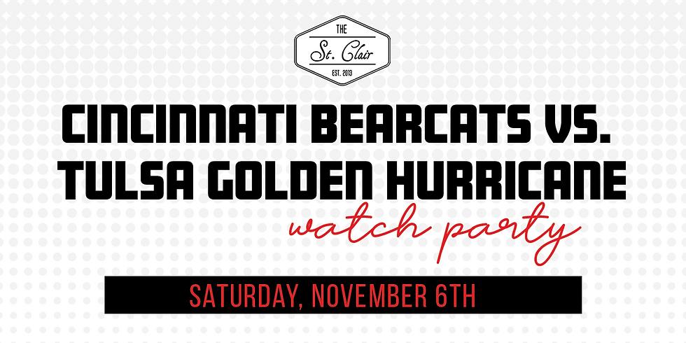 UC Bearcats vs. Tulsa Golden Hurricane Watch Party