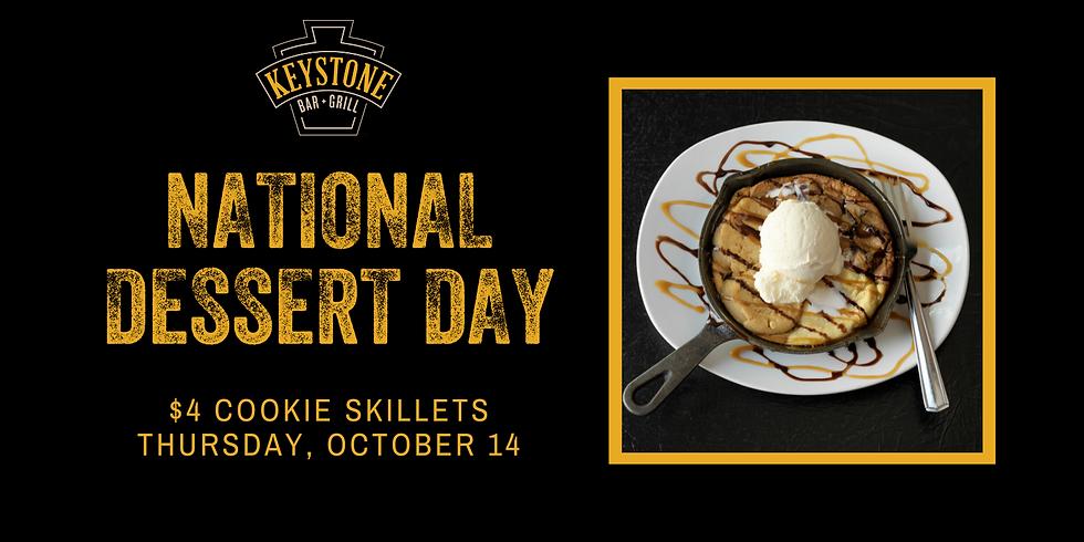 National Dessert Day at Keystone Bar & Grill