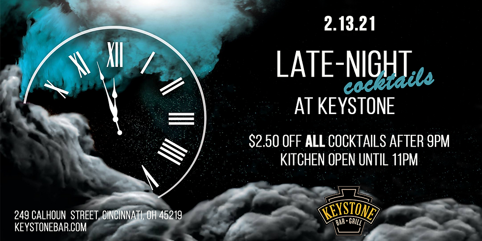 Late-Night Cocktails at Keystone