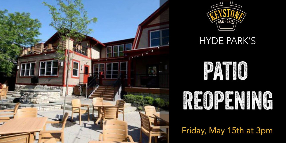 Patio Reopening