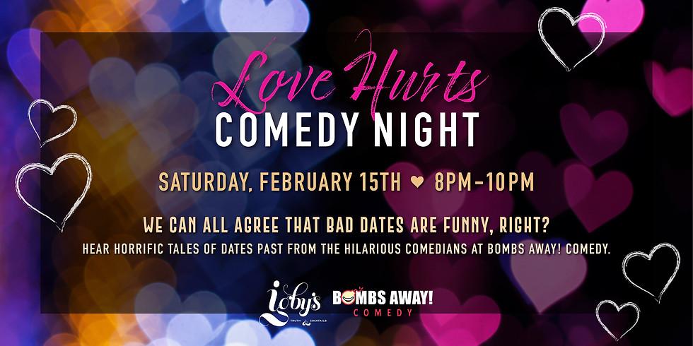 Love Hurts Comedy Night