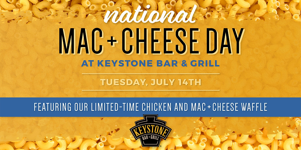 National Mac + Cheese Day