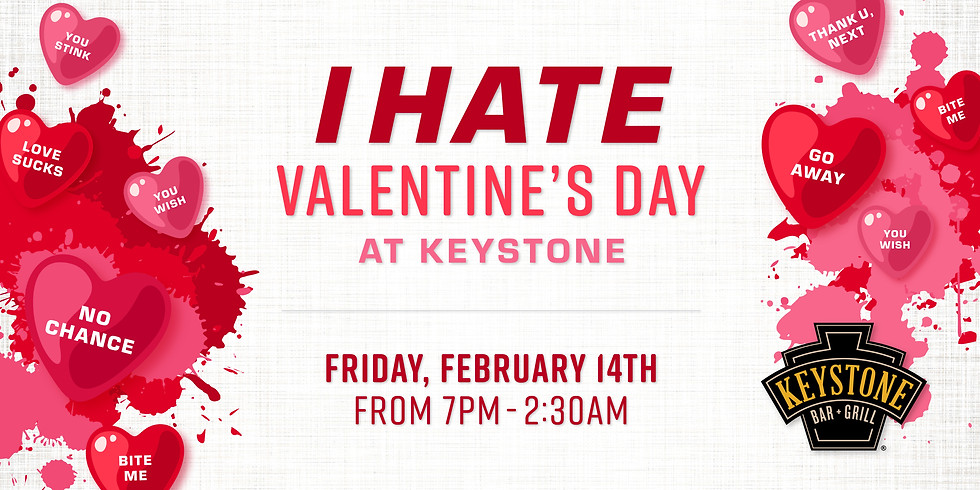 I Hate Valentine's Day Party