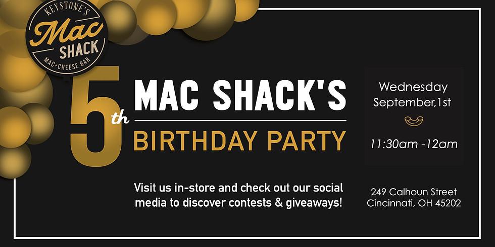 Mac Shack's 5th Birthday Party