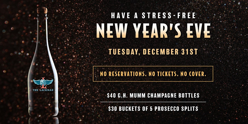 Stress-Free New Year's Eve