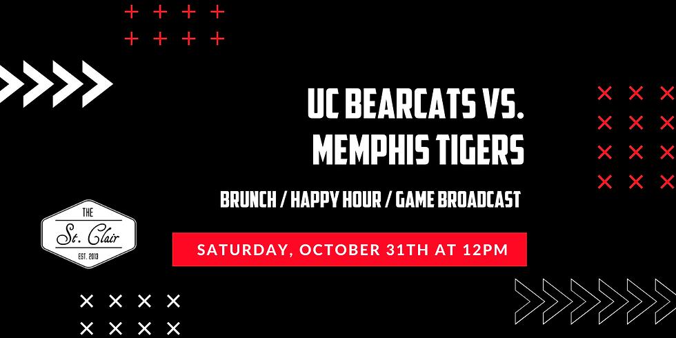 UC Bearcats vs. Memphis Tigers Watch Party