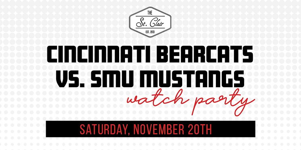 UC Bearcats vs. SMU Mustangs Watch Party