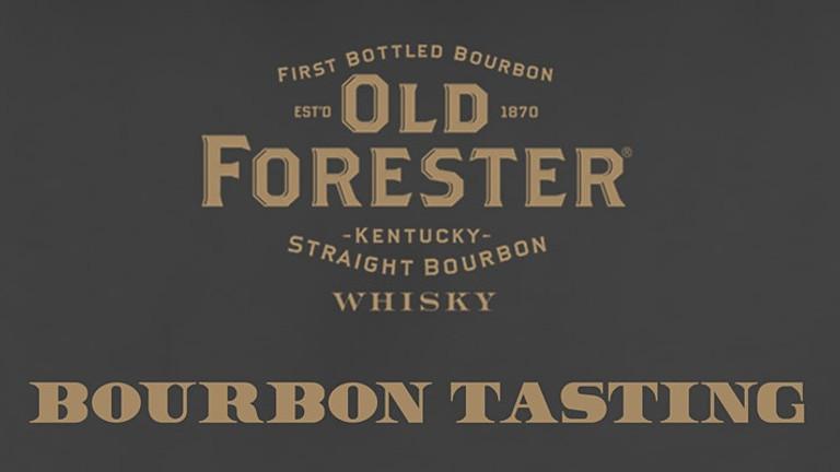 Old Forester Bourbon Tasting