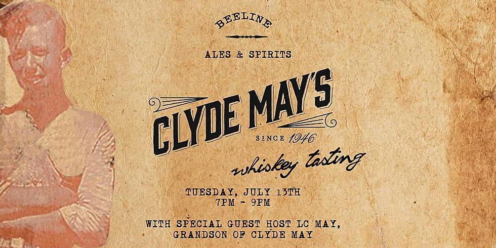 Clyde May's Whiskey Tasting