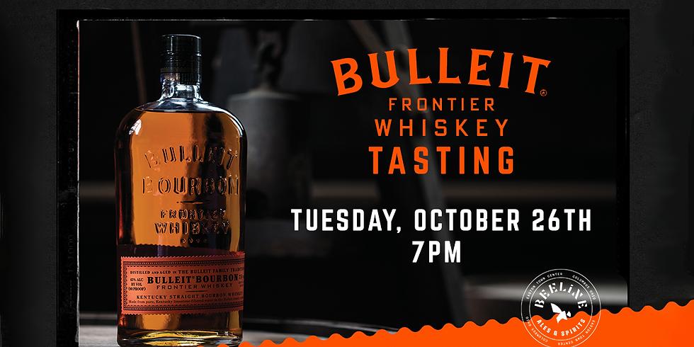 Bulleit Frontier Whiskey Tasting