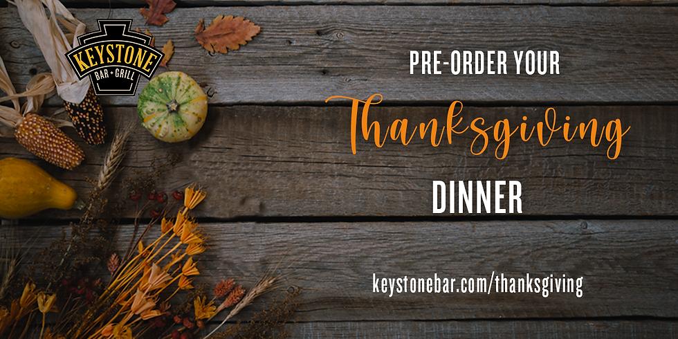 Pre-Order Your Thanksgiving Dinner