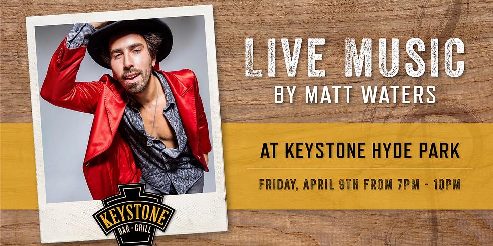 Live Music by Matt Waters
