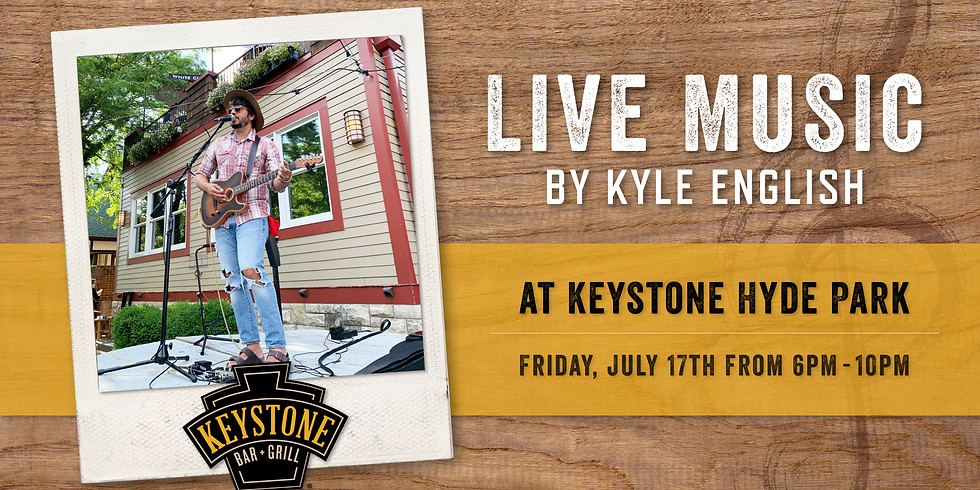 Live Music by Kyle English