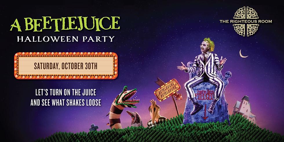 A Beetlejuice Halloween Party