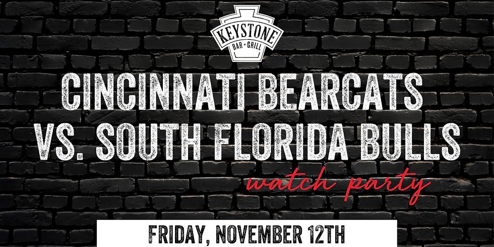 UC Bearcats vs. USF Bulls Watch Party