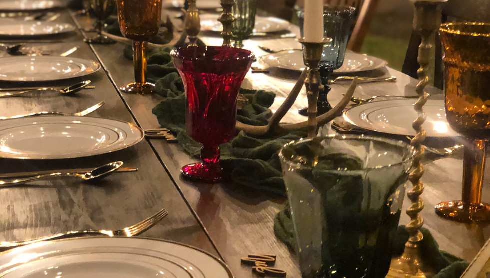 Goblets and Brass