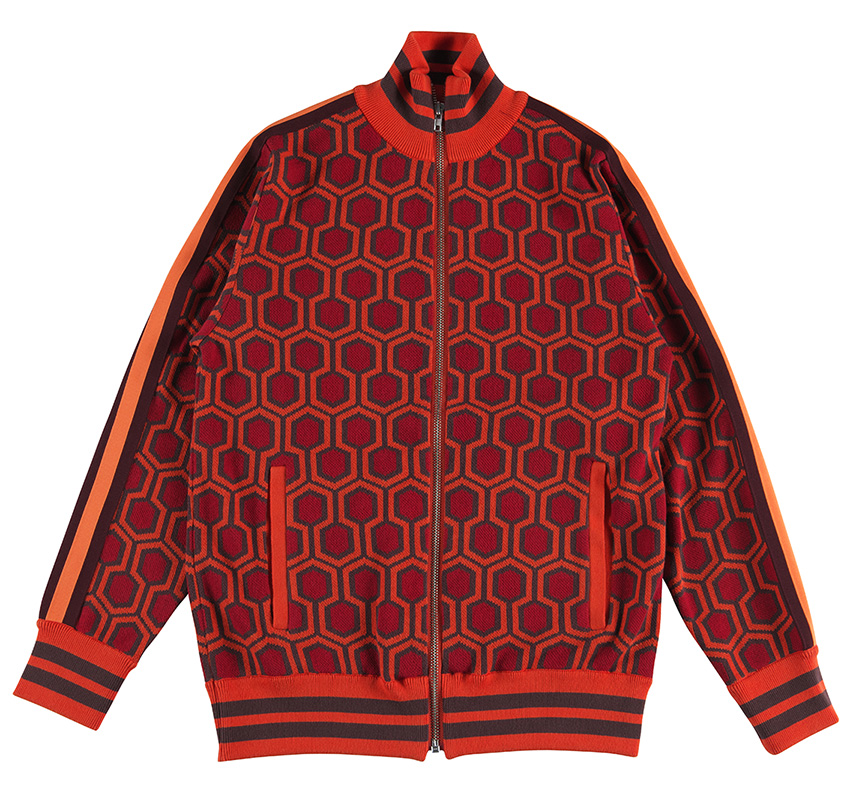 """THE SHINING"" KNIT BLOUSON"