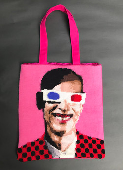 John Waters handmade tote