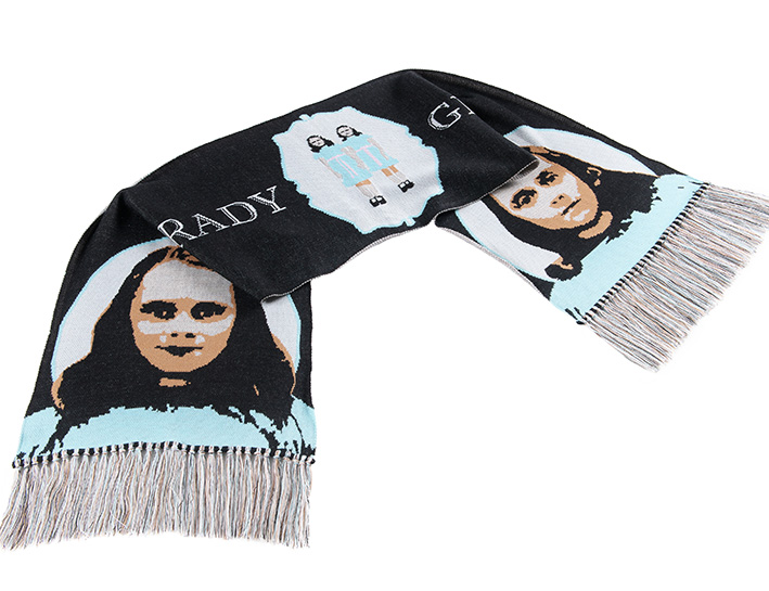 """THE SHINING"" SCARF"