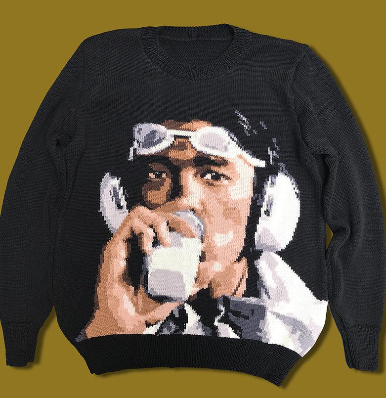 R.I.P. Kenichi Hagiwara sweater