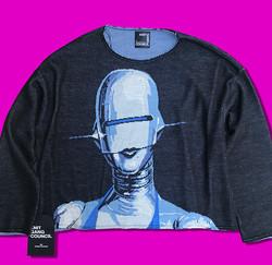 Hajime Sorayama sweater