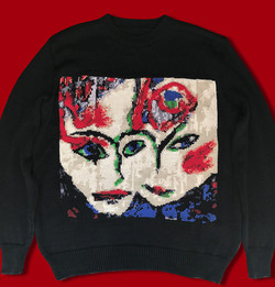 The Cure / Love song sweater