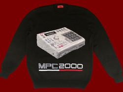 AKAI MPC2000 handmade sweater