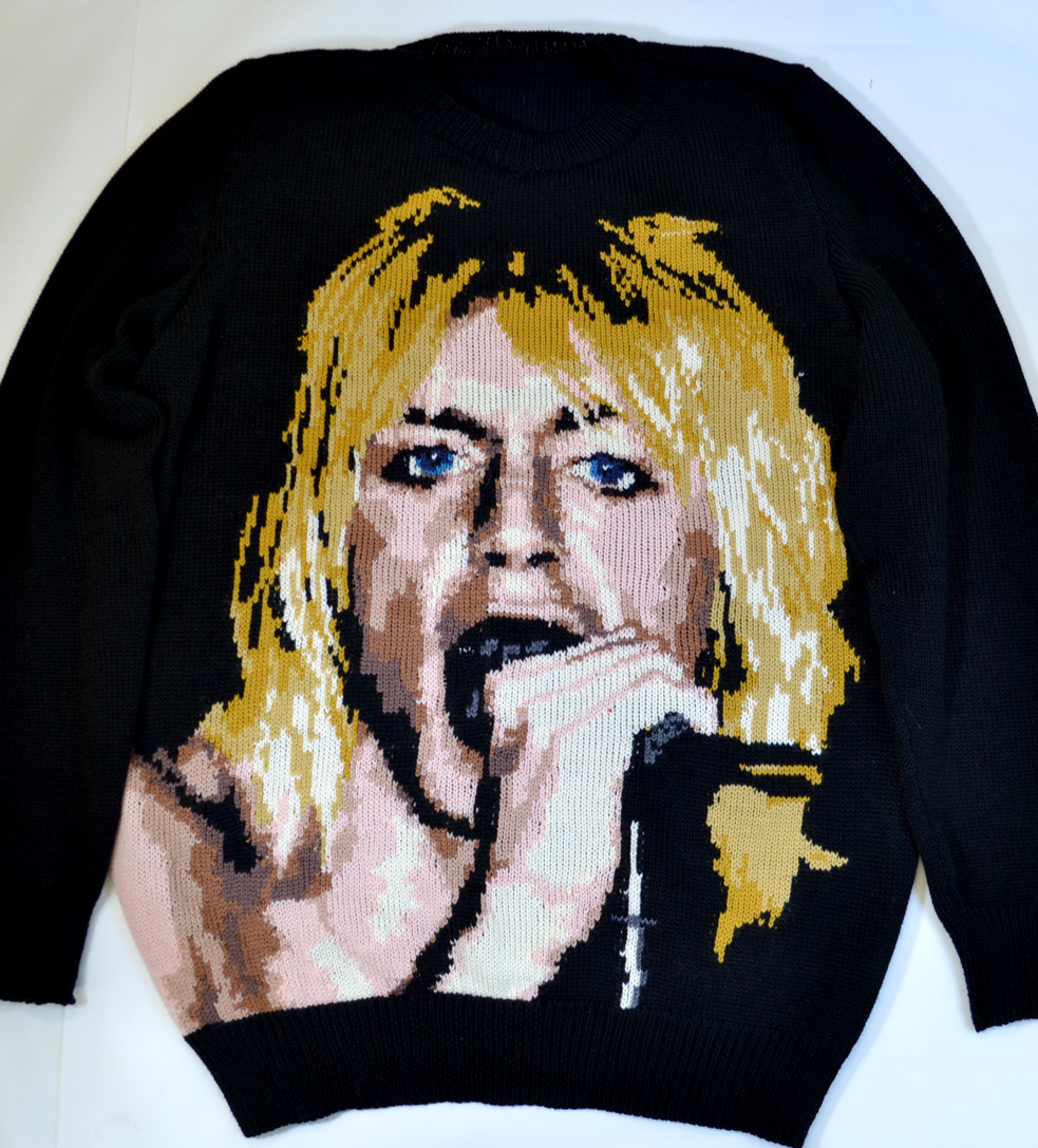 Iggy Pop / The Stooges sweater