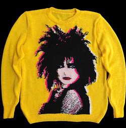 Siouxsie Sioux sweater