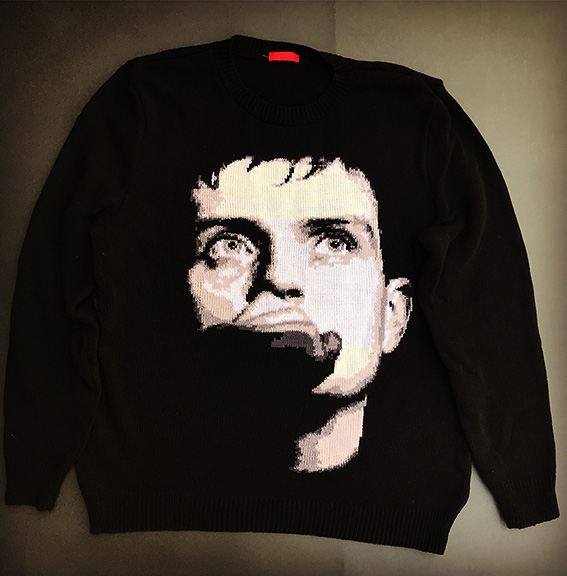 Ian Curtis / Joy Division sweater
