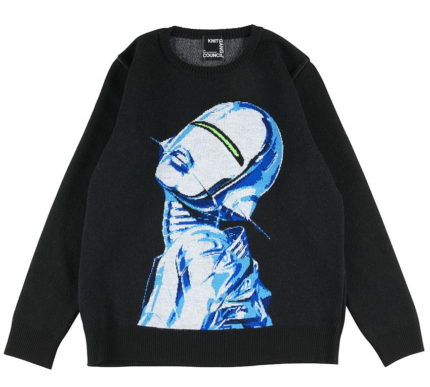 Sorayama Sexy Robot sweater