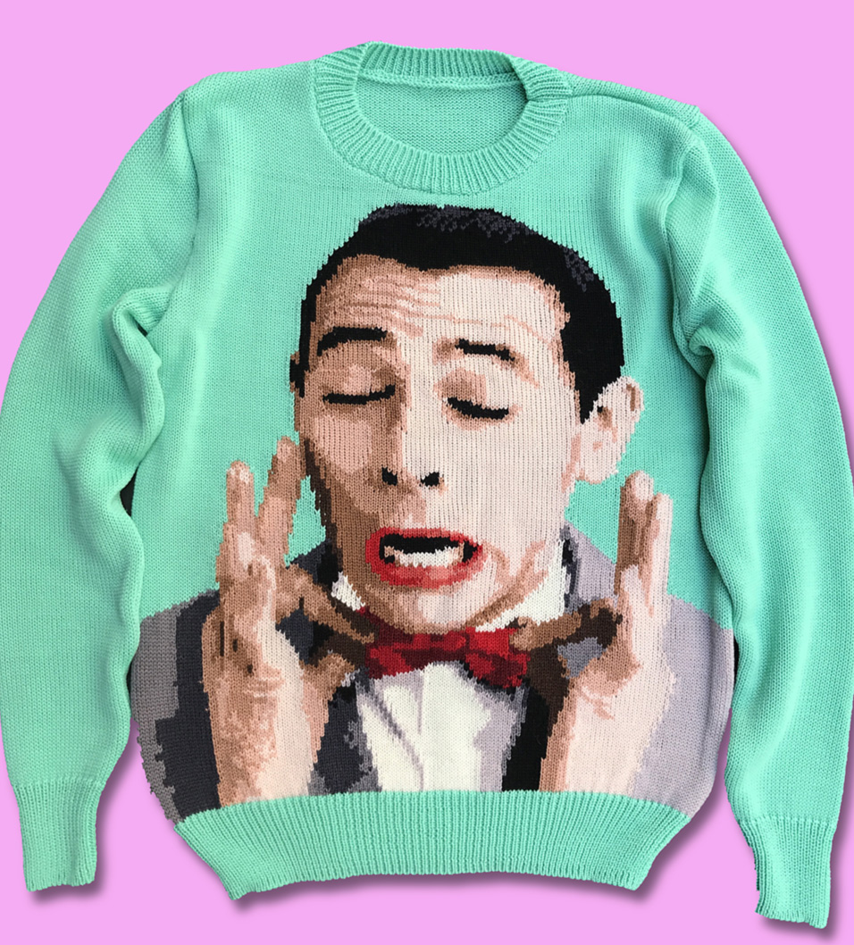 Pee-Wee Herman sweater