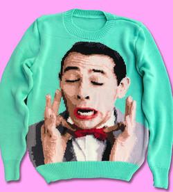 Pee-Wee Herman sweater