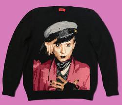 Klaus Nomi handmade sweater