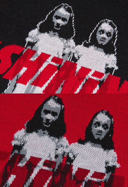 The Shining twins sweater