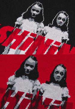 The Shining twins sweater