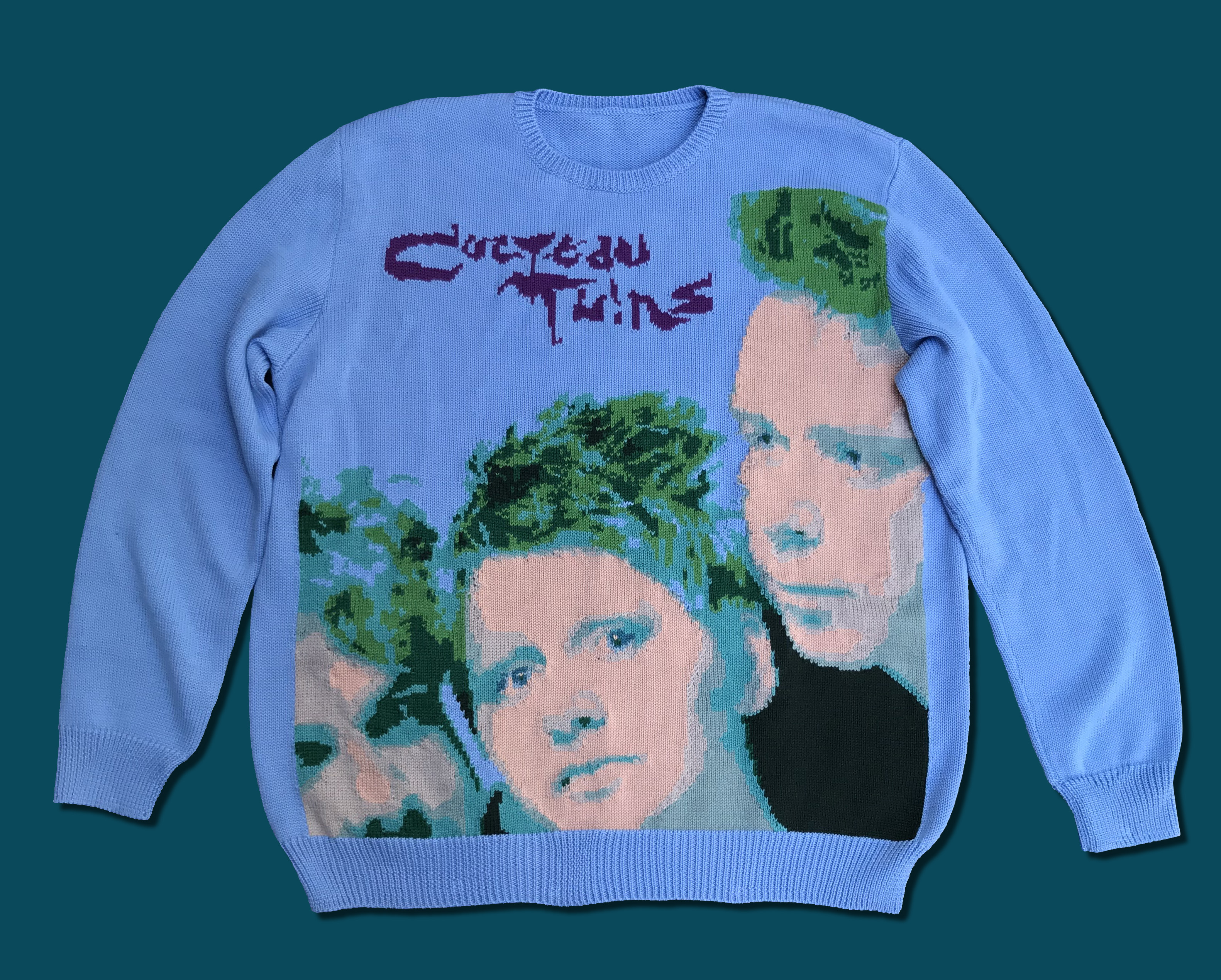 Cocteau Twins handmade sweater