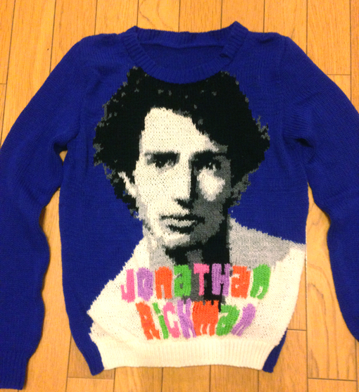 Jonathan Richman Sweater