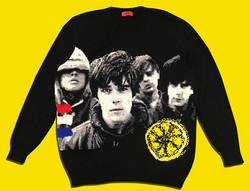 The Stone Roses handmade sweater