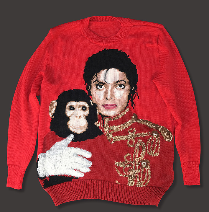 Michael & Bubbles sweater