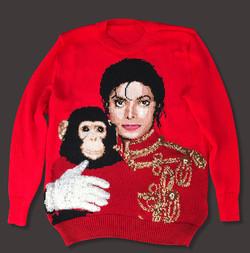 Michael & Bubbles sweater